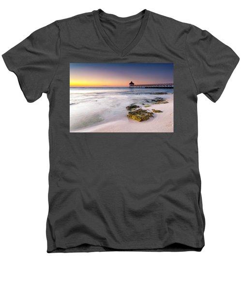 Morning Pastels Men's V-Neck T-Shirt