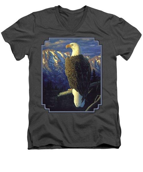 Morning Quest Men's V-Neck T-Shirt
