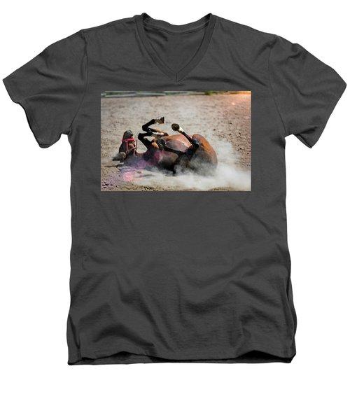 Morning Roll Men's V-Neck T-Shirt