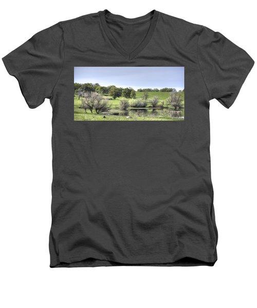 Morning Serenity Men's V-Neck T-Shirt