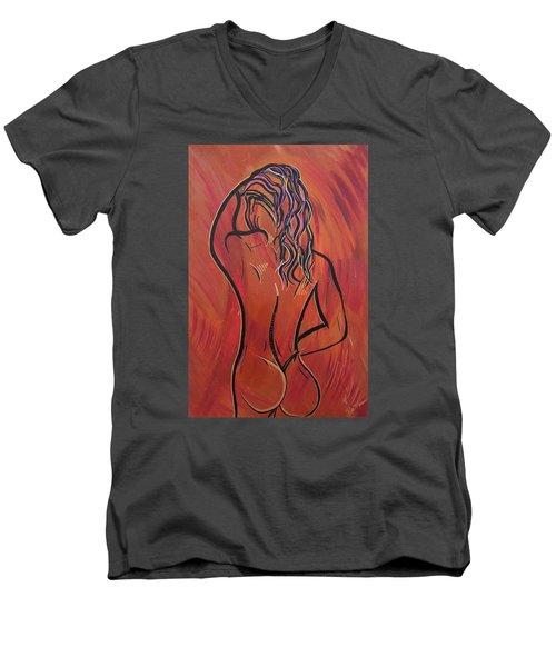 Morning Shower Men's V-Neck T-Shirt