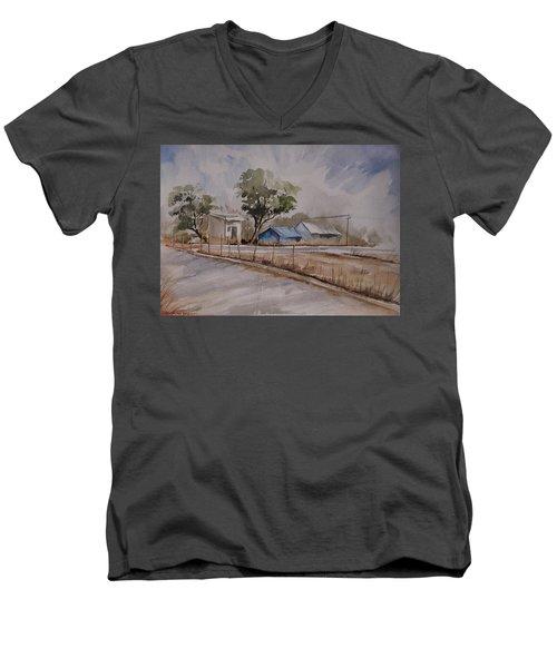 Morning Walk 2 Men's V-Neck T-Shirt