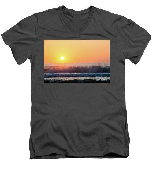 Morning Waves Men's V-Neck T-Shirt