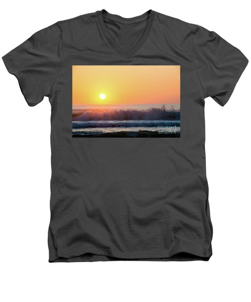Morning Waves Men's V-Neck T-Shirt
