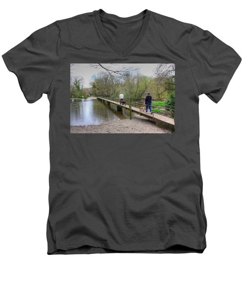 Morton Bridge Men's V-Neck T-Shirt