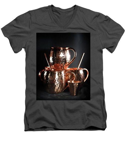 Moscow Mule Set Men's V-Neck T-Shirt
