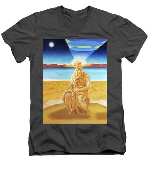 Moshe Rabbenu  Men's V-Neck T-Shirt