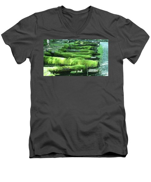 Mossy Fence Men's V-Neck T-Shirt