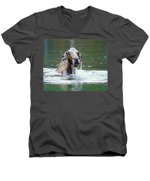 Mossy Moose Men's V-Neck T-Shirt
