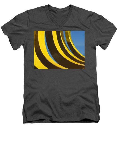 Mostly Parabolic Men's V-Neck T-Shirt