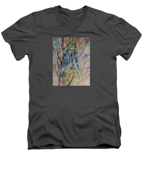 Mother Nature Men's V-Neck T-Shirt