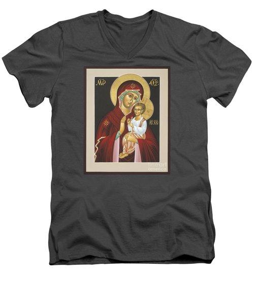Mother Of God Light In All Darkness 016 Men's V-Neck T-Shirt
