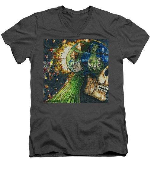 Motherboard Men's V-Neck T-Shirt