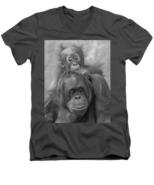 Motherhood 14 Men's V-Neck T-Shirt