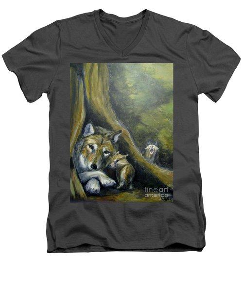 Mother's Day Men's V-Neck T-Shirt
