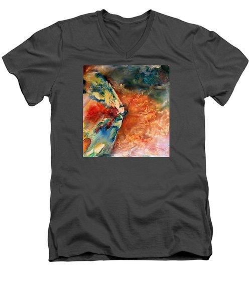 Mother's Day Men's V-Neck T-Shirt by Tracy Bonin