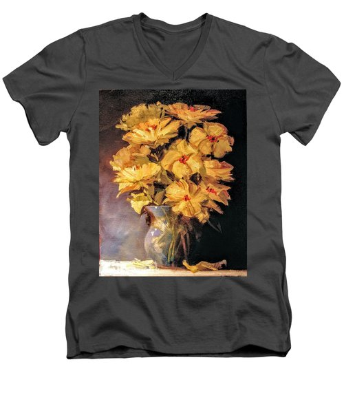 Mother's Favorite Vase Men's V-Neck T-Shirt