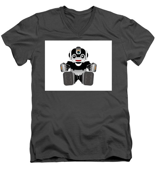 Moto-hal Men's V-Neck T-Shirt