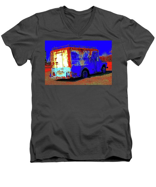 Motor City Pop #13 Men's V-Neck T-Shirt
