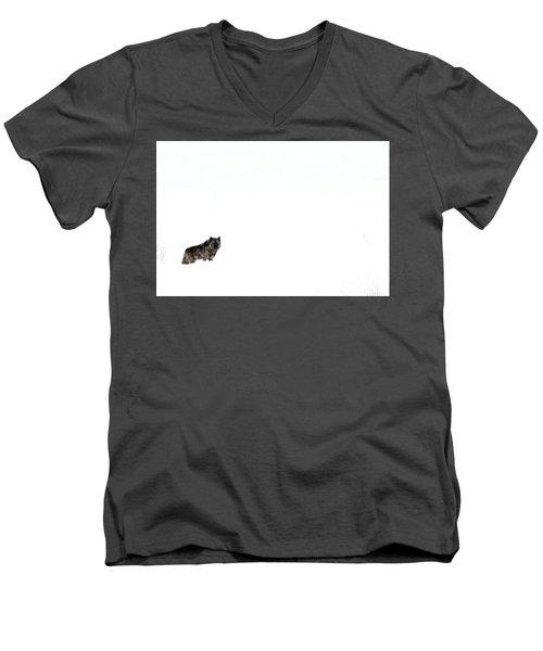 Mottled Men's V-Neck T-Shirt