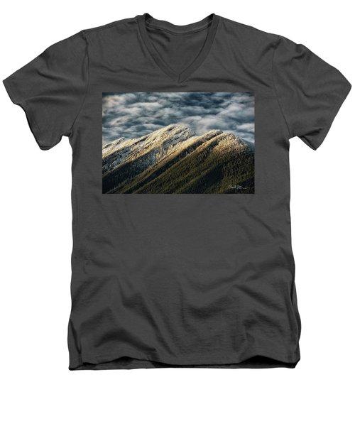 Mount Higgins Clouds Men's V-Neck T-Shirt