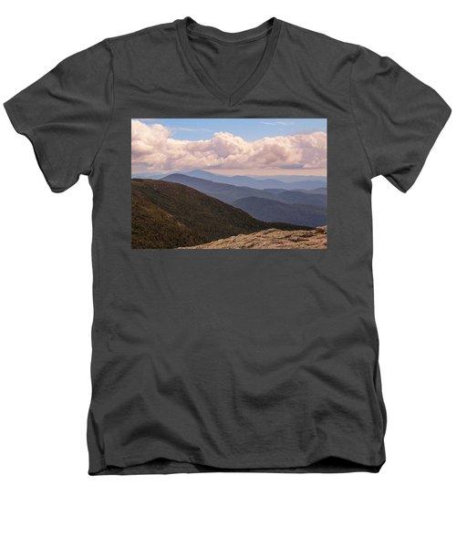 Mount Mansfield Vermont Men's V-Neck T-Shirt