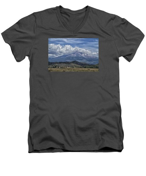 Mount Shasta 9950 Men's V-Neck T-Shirt