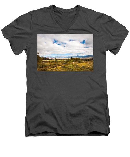 Mount Washington Hotel Men's V-Neck T-Shirt