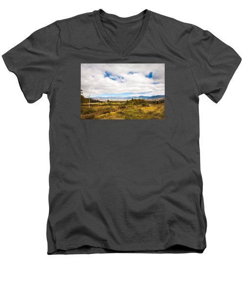 Mount Washington Hotel Men's V-Neck T-Shirt