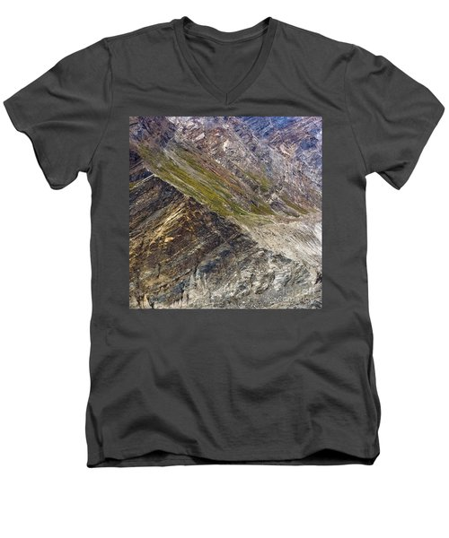 Mountain Abstract 1 Men's V-Neck T-Shirt
