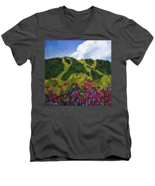 Mountain Blooms Men's V-Neck T-Shirt
