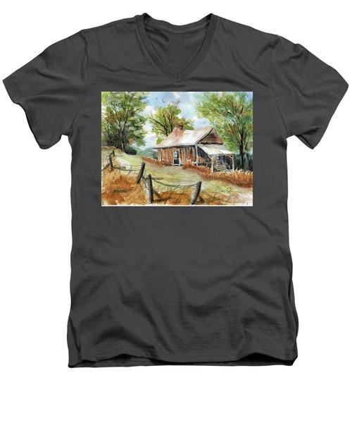 Mountain Get-away Men's V-Neck T-Shirt