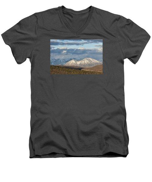 Mountain Highlight Men's V-Neck T-Shirt