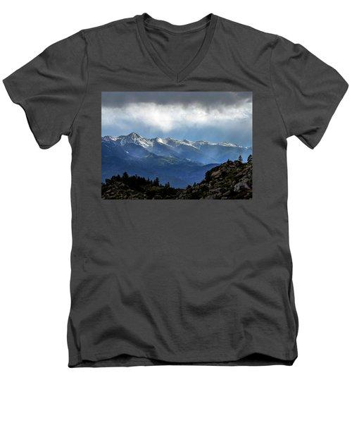 Mountain Moodiness Men's V-Neck T-Shirt