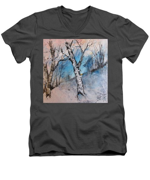 Mountain Morning Men's V-Neck T-Shirt