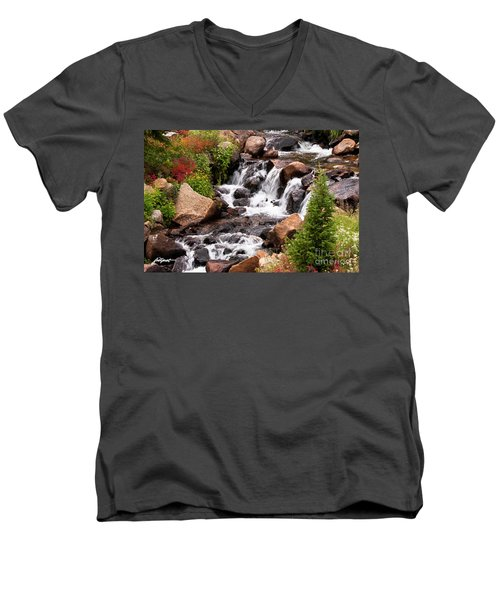 Mountain Music Men's V-Neck T-Shirt