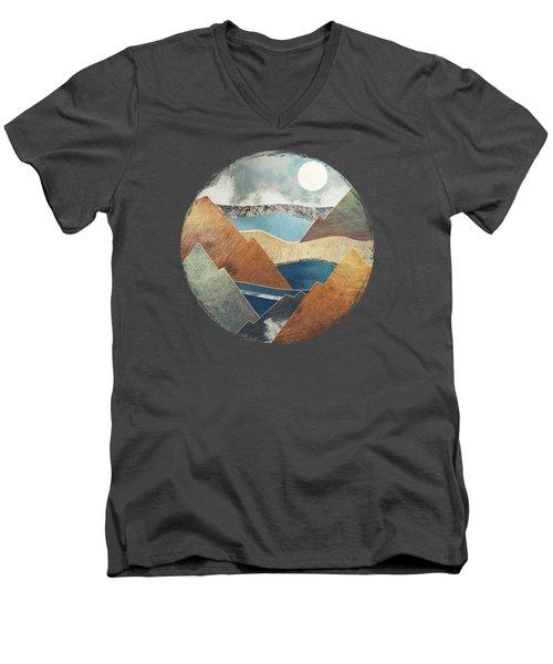 Mountain Pass Men's V-Neck T-Shirt
