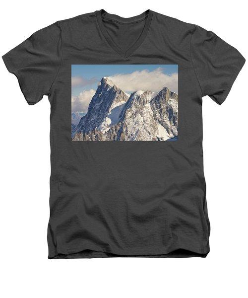 Mountain Rescue Men's V-Neck T-Shirt
