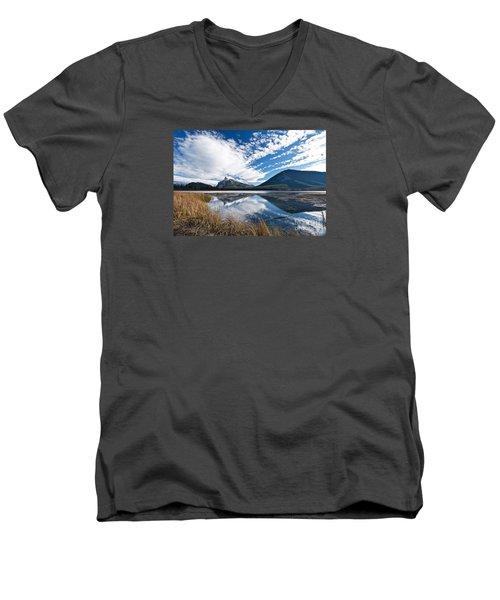 Mountain Splendor Men's V-Neck T-Shirt