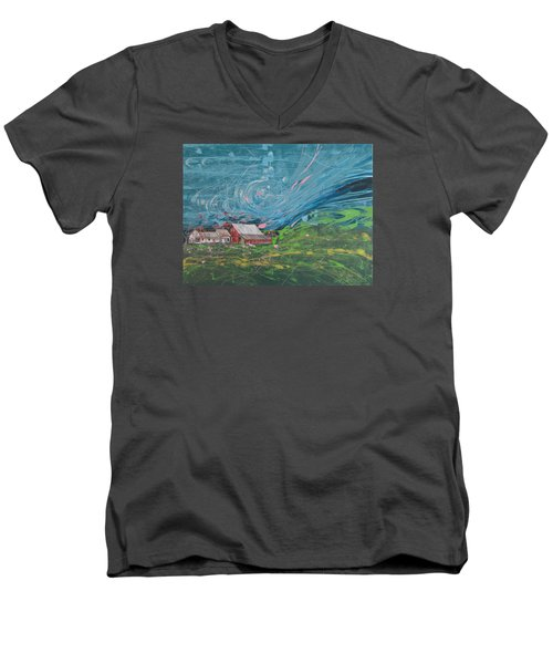 Strong Storm Men's V-Neck T-Shirt