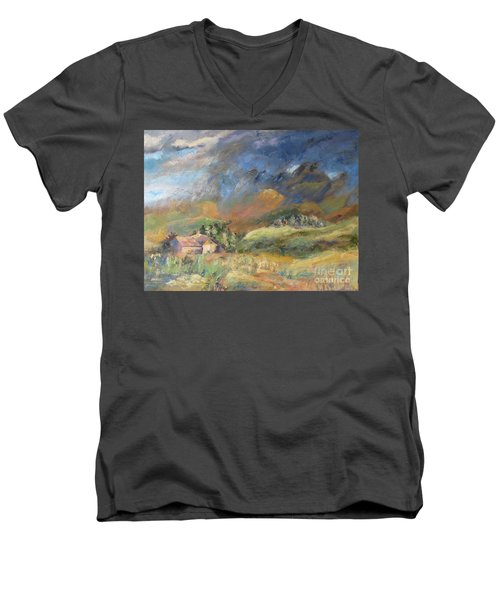 Mountain Storm Men's V-Neck T-Shirt