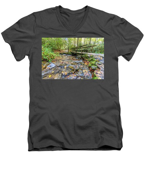 Mountain Stream #2 Men's V-Neck T-Shirt