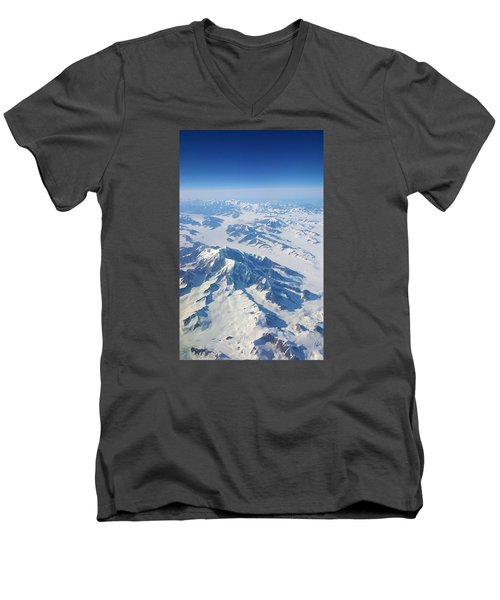 Mountain Top Men's V-Neck T-Shirt