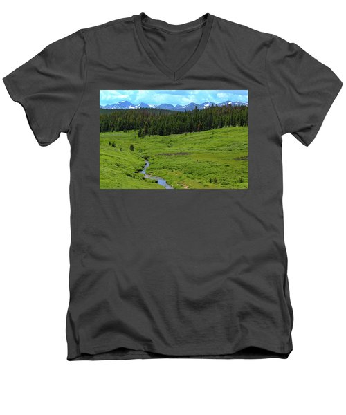 Mountain Valley Men's V-Neck T-Shirt