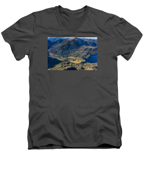 Mountain Valley Men's V-Neck T-Shirt