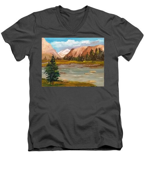 Mountain View Men's V-Neck T-Shirt