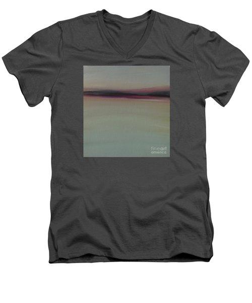 Mountains At Dawn Men's V-Neck T-Shirt