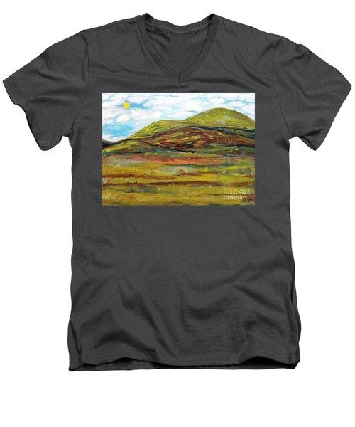 Mountaiscape 2  Men's V-Neck T-Shirt