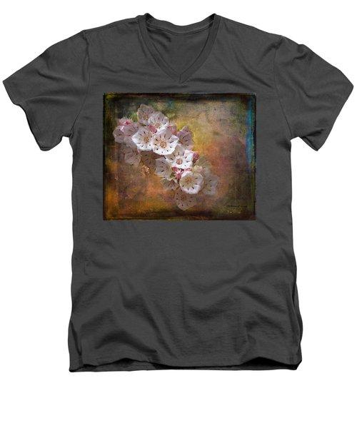 Mountain Laurel Men's V-Neck T-Shirt