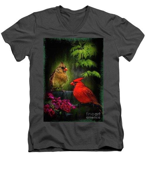 Mr. And Mrs. Men's V-Neck T-Shirt